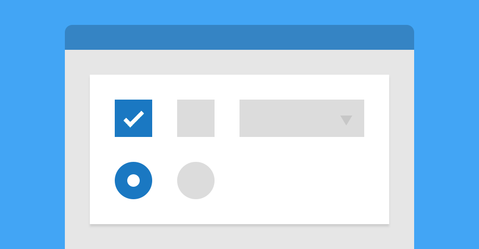 Completely CSS: Custom checkboxes, radio buttons and select