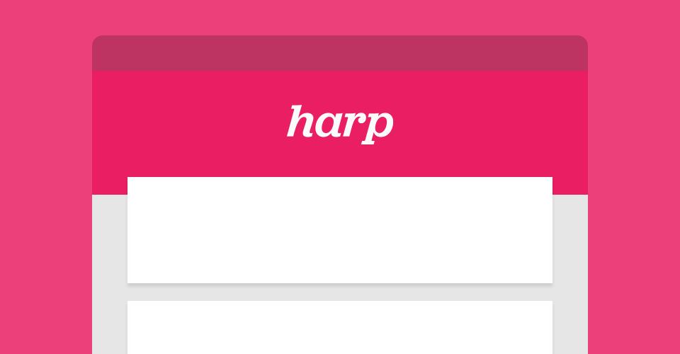 Build a Node js blog with Harp | Kenan Yusuf